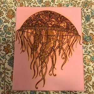 Jellyfish Painting, New